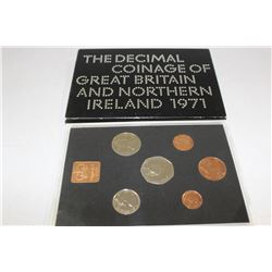 1971 DECIMAL COINAGE OF GREAT BRITAIN &