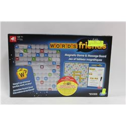WORDS WITH FRIENDS MAGNETIC GAME