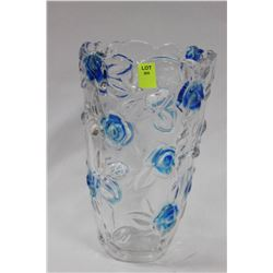 ROSE VASE ON CHOICE: BLUE