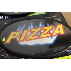 NEW IN BOX LED PIZZA SIGN