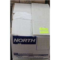 CASE OF NORTH DISPOSABLE COVERALLS