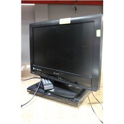 "EMERSON 19"" - HD TV W/ HDMI & SONY DVD PLAYER &"