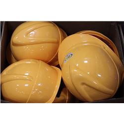 BOX OF 10 NEW HARDHATS ON CHOICE: YELLOW