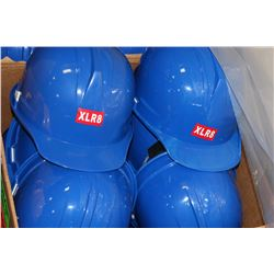 BOX OF 10 NEW HARDHATS ON CHOICE: BLUE
