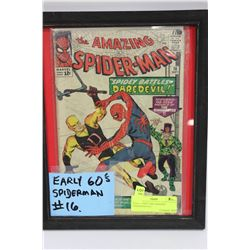 EARLY 1960'S THE AMAZING SPIDERMAN #16