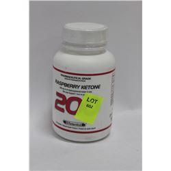 BOTTLE OF 60 RASPBERRY KEYTONE CAPSULES