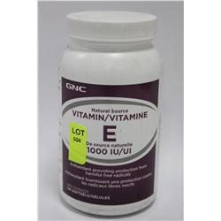 BOTTLE OF 120 VITAMIN E SOFT GELS