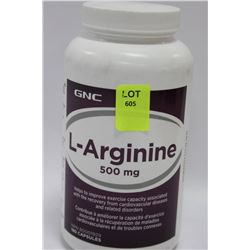 BOTTLE OF 180 GNC L-ARGININE