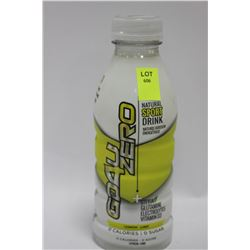 BOTTLE OF GD4U NATURAL SPORT DRINK LEMON-LIME X4