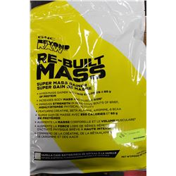 5.44KG BAG OF GNC REBUILD MASS SUPER MASS