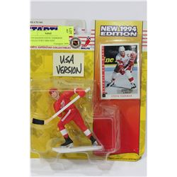 1994 EDITION STEVE YZERMAN COLLECTOR CARD AND