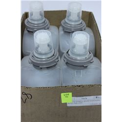 CASE OF 4 PURELL HAND SANITIZER REFILLS
