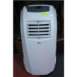 LG PORTABLE 10,000 BTU WHITE AIR CONDITIONER