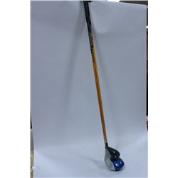 TWO LEFT-HANDED WOODS PRO-EDGE 75