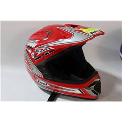 FUEL MX4 MOTORCYCLE HELMET SIZE L