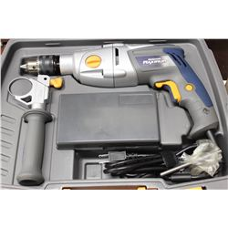 MASTERCRAFT CORDED DRILL SET WITH BITS