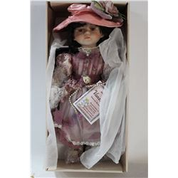 VANESSA LIMITED EDITION PORCELAIN DOLL