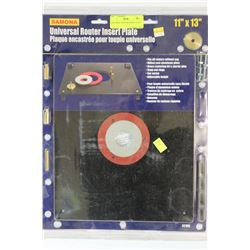 UNIVERSAL ROUTER INSERT PLATE