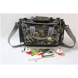 PLANO FISHING BAG W/ CONTENTS
