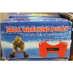 SMALL WHIRLWIND PULLEY, KIDS SHOE WHEELS