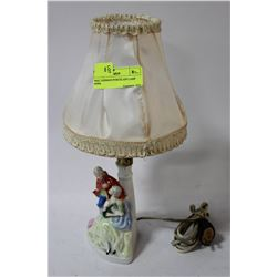 WKC GERMAN PORCELAIN LAMP #5996