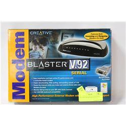 CREATIVE MODEM BLASTER V.92