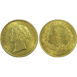 1858 ½ Sovereign PCGS AU58