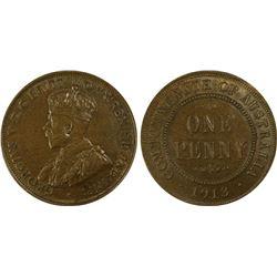 1913 Penny PCGS AU 58