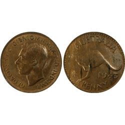1943(p) Penny PCGS MS62BN
