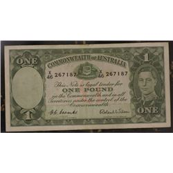 Coombs Wilson 1 Pound George V1 a VF