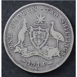 1914H Florin VG