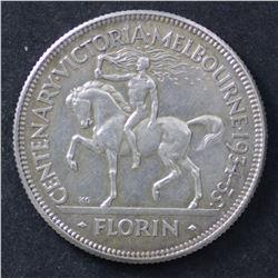 1934/35 Florin a Uncirculated