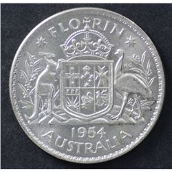 1954 Regular florin Choice Unc