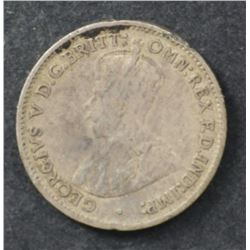Australian Threepence Double Sided