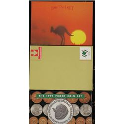 1988, 1991, 1989 Proof Sets Coins and packaging are perfect