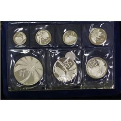 Somoa Sterling Silver Proof Set 1974
