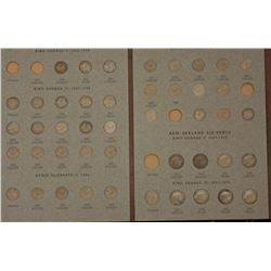 NZ Threepence & sixpence set complete, 1935 3d  above average VF