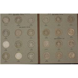 NZ ½ Crowns 1933 to 1965, crowns 1949 & 1953 , album OK