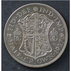 1927 GB ½ Crown FDC