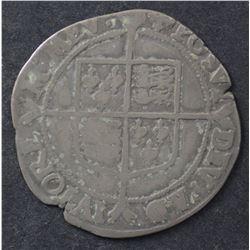 GB Elizabeth 1 Shilling , Hammered Fine