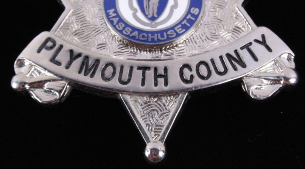 Deputy Sheriff Massachusetts Badge Blackinton The