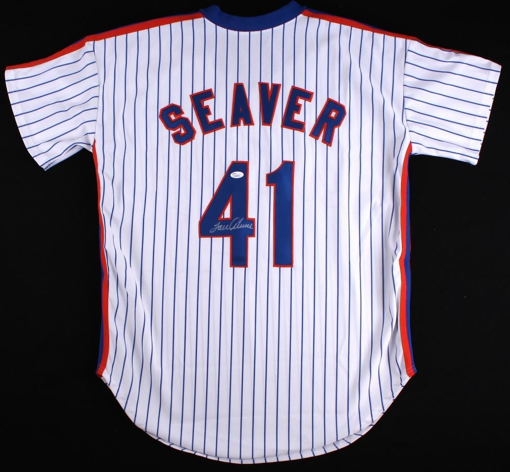uk availability 36a0a 7e513 Tom Seaver Signed Mets Jersey (JSA COA)
