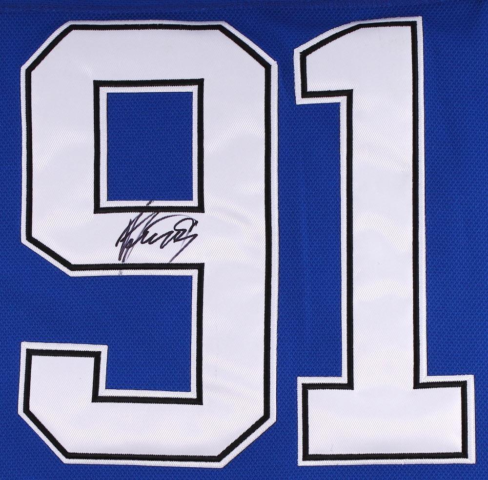finest selection 2c6ee 830cb Steven Stamkos Signed Tampa Bay Lightning Jersey (JSA ALOA)