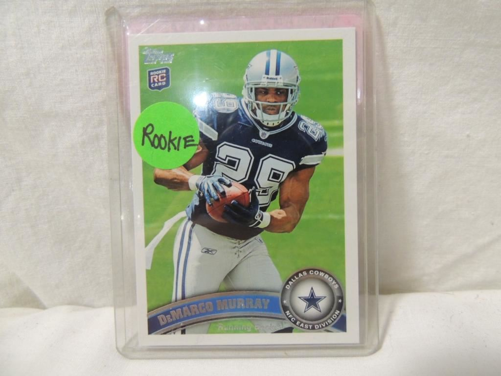 2011 Topps Demarco Murray 126 Rookie Card