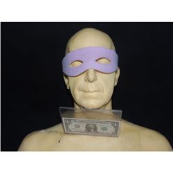 BATMAN RETURN TO THE BATCAVE SCREEN USED RIDDLER MASK