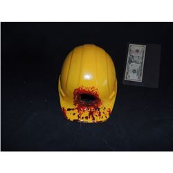 ALIEN VS PREDATOR PROTOTYPE HARD HAT USED IN TEST SHOT