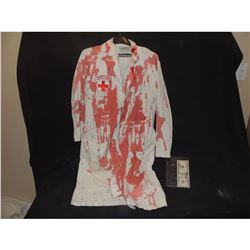BLOODY NIGHT NURSE LAB COAT FROM UNKNOWN PRODUCTION