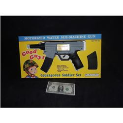 CHILD'S PLAY SCREEN USED & MATCHED GOOD GUYS GUN IN BOX SEEN IN OPENING TOY STORE CREDITS