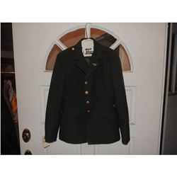 CAPTAIN AMERICA AGENT CARTER HAYLEY ATWELL ARMY COAT WITH PIN