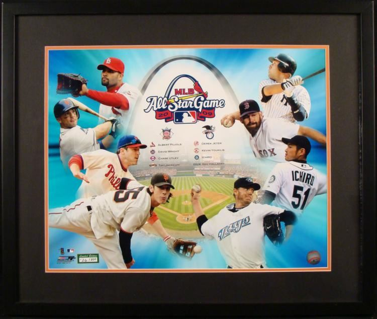 0f51db539 Image 1 : 2009 All-Star Game Limited Edition Photograph Collage ...